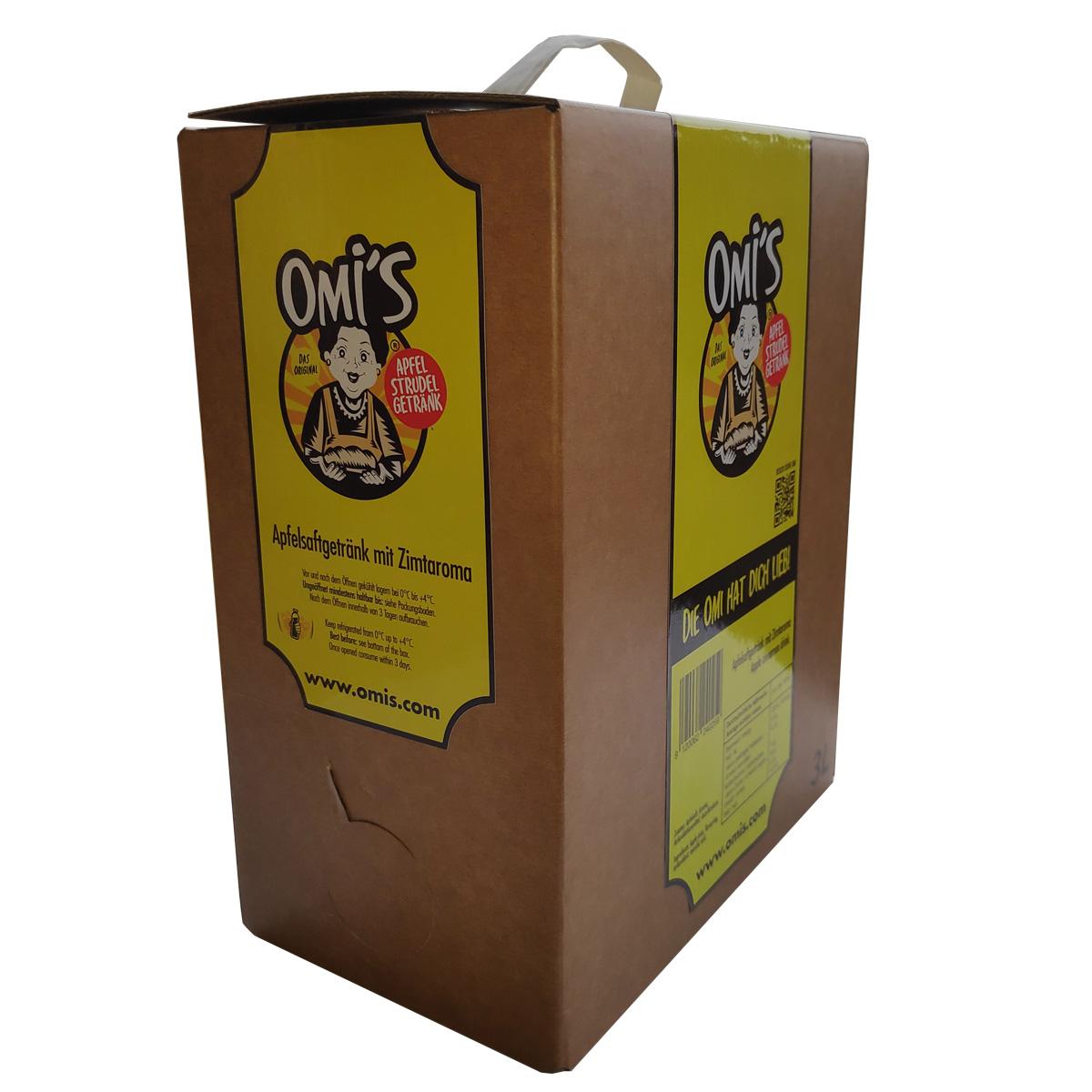 OMI´S APFELSTRUDEL 3L BAG IN BOX
